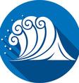 Sea Wave Icon vector image