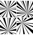 Light beams vector image