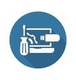 Repair Kit Icon Flat Design vector image