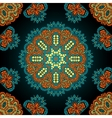 Seamless geometric pattern in oriental style vector image
