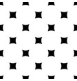 monochrome seamless pattern rounded squares vector image