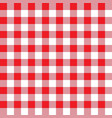 red and pink plaid fabric pattern vector image