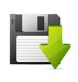 computer download concept vector image