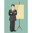Presentation Management vector image