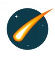 Comet vector image