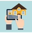 home security technology surveillance vector image