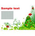 xmas backdrop vector image