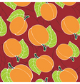 peach pattern vector image vector image