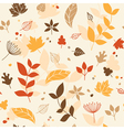 Leaves background vector