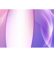 Violet vivid background with transparent waves vector image vector image