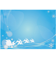 card with new year vector image