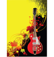 rock poster vector image vector image