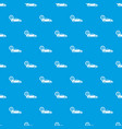car and dollar sign pattern seamless blue vector image