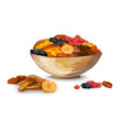 Dried Fruits Composition vector image