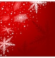 Red Xmas Background vector image vector image