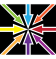 Britain abstract flag vector image vector image