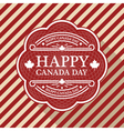 Canada Day Poster vector image vector image