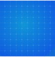 Blueprint abstract background grid vector image