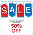 sale labels or tag background special offer color vector image