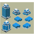 Isometric apartment vector image