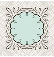 Set of hand draw calligraphic floral design vector image