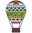 Air balloon colorful vector image