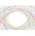 Colorful lines - bright advertisement background vector image vector image