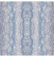 Seamless waves hand-drawn pattern vector image