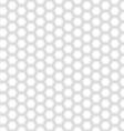 Seamless White Hexagon Texture vector image