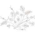 Floral ornament flower pattern Vector Image