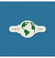 Earth Day Banner realistic Template vector image