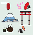 japan cartoon vector image
