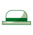 traditional hat of gondolier vector image