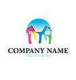 home painting logo vector image