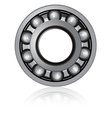 Bearings on a white background vector image