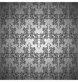 Metallic curls seamless pattern vector image