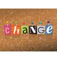 Change Concept vector image