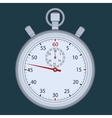Stopwatch - time measuring vector image