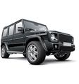 Germany full size SUV vector image
