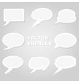 Conversation cloud vector image