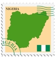 mail to-from Nigeria vector image vector image