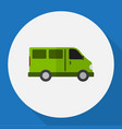of automobile symbol on lorry vector image