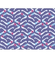 Seamless pattern with isometric 3d stereo glasses vector image