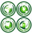 eco globes vector image