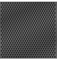 metal mesh background vector image vector image