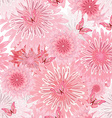 seamless texture with delicate flowers floral vector image