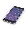 Smartphone Mobile Medicine vector image