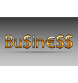 Business text background vector image