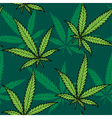 Hemp Seamless Pattern vector image