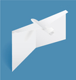 Airplane Card vector image